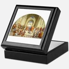 Raffaello School of Athens Keepsake Box