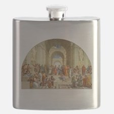 Raffaello School of Athens Flask