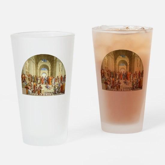 Raffaello School of Athens Drinking Glass