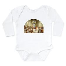 Raffaello School of At Long Sleeve Infant Bodysuit