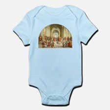 Raffaello School of Athens Infant Bodysuit