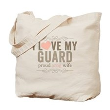 I Love my Guard Tote Bag