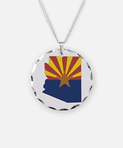 Arizona Flag Necklace
