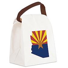 Arizona Flag Canvas Lunch Bag