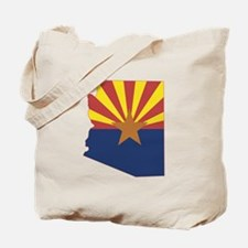 Arizona Flag Tote Bag