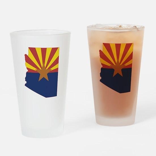 Arizona Flag Drinking Glass