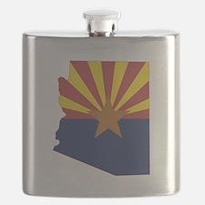 Arizona Flag Flask