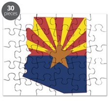 Arizona Flag Puzzle