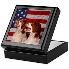 America Series 3 Keepsake Box