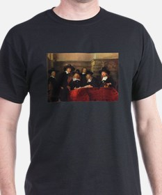 Rembrandt - Syndics of TCM Guild T-Shirt