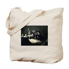 Rembrandt - Anatomy Lesson of Dr Tulp Tote Bag