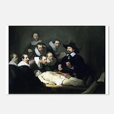Rembrandt - Anatomy Lesson of Dr Tulp Postcards (P