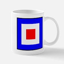 Nautical Flag Code Whiskey Mug