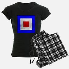 Nautical Flag Code Whiskey Pajamas