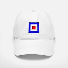 Nautical Flag Code Whiskey Baseball Baseball Baseball Cap