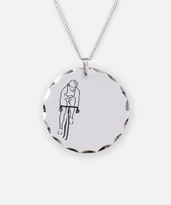 Cycle Woman Necklace