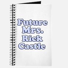 Future mrs Rick Castle blue Journal
