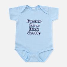 Future mrs Rick Castle blue Body Suit