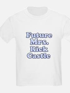 Future mrs Rick Castle blue T-Shirt