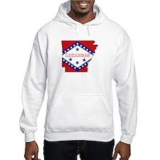 Arkansas Flag Hoodie