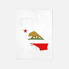 California Flag 5'x7'Area Rug