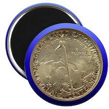 Cleveland Centennial Coin Magnet