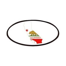 California Flag Patches