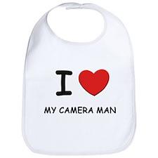 I love camera men Bib