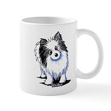 B&W Pom Mug