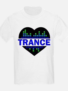 Trance Heart tempo design T-Shirt