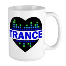 Trance Heart tempo design Mug