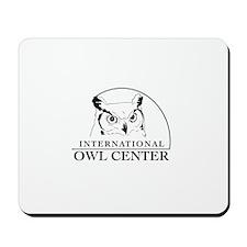 International Owl Center Logo Mousepad