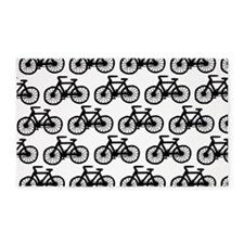 'Bicycles' 3'x5' Area Rug