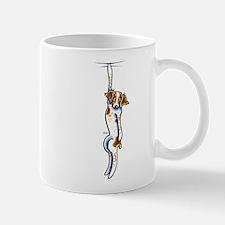 Clingy Brittany Off-Leash Art™ Mug
