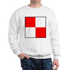 Nautical Flag Code Uniform Sweatshirt
