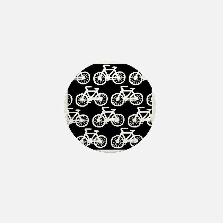 'Bicycles' Mini Button