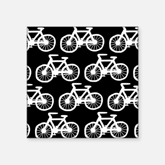 "'Bicycles' Square Sticker 3"" x 3"""
