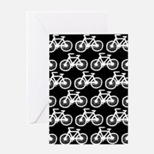 'Bicycles' Greeting Card