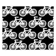 'Bicycles' King Duvet