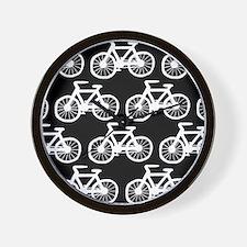 'Bicycles' Wall Clock