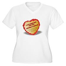 shayne town`s designs. Menieres Heart T-Shirt