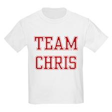 TEAM CHRIS  Kids T-Shirt