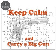 Keep Calm and Carry a Big Gun Puzzle