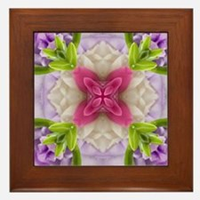 Dreaming of My Garden #1 Framed Tile