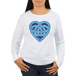 Adanvdo Heartknot Women's Long Sleeve T-Shirt