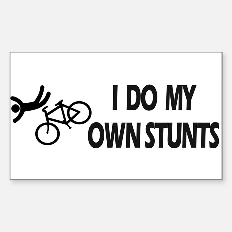 biking bike biking Decal