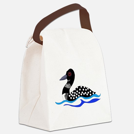 Loony Loon Canvas Lunch Bag