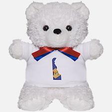 Delaware Flag Teddy Bear