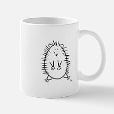 Hedgehog Line Drawing Mug