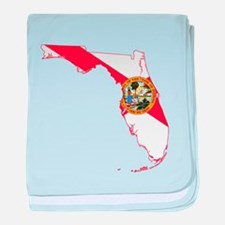 Florida Flag baby blanket